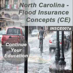 North Carolina- Flood Insurance Concepts (CE)