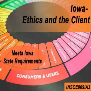 Iowa:  3 hr CE - Ethics & the Client Continuing Education