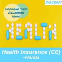 Florida: 8 hr All Licenses CE - Overview of the Health Insurance Industry