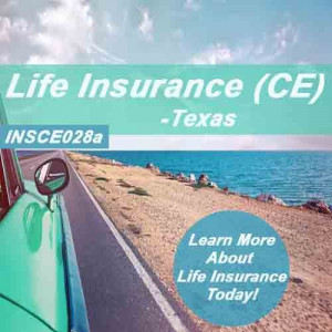 Texas: 12 hr CE Life Insurance