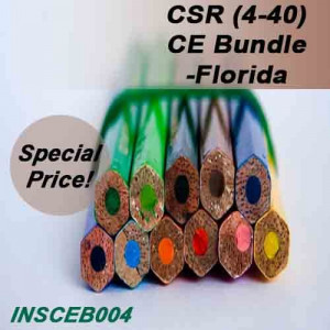Florida - INSCEB004FL10 - CSR (4-40) CE Bundle