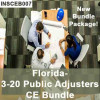 INSCEB007FL24 - 3-20 Public Adjusters CE Bundle - Florida