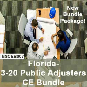 Florida - INSCEB007FL24 - 3-20 Public Adjusters CE Bundle