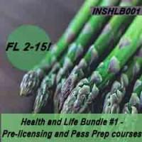 Florida: 60 hr Prelicensing Bundle - Health and Life Prelicensing and Pass Prep Cram Courses Bundle #1