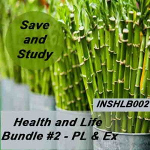 Florida: 60 hr Life and Health - Health and Life Pre-licensing course and Exam Drills Bundle #2