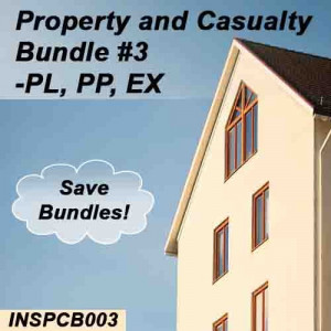 Florida - INSPCB003 Property and Casualty Bundle #3 - PL, PP & Ex