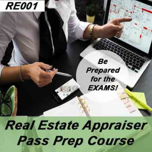 Real Estate Appraiser Practice Exams (RE001)